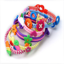 Wholesale 6PCS Jewelry Lots Polymer Clay Kids Baby Children Bracelets Wirst band