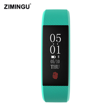 Original Real Top Fashion Fitness Bracelets Heart Rate Call Reminder Waterproof Smart Bracelet For Android Ios Smartphone(China)