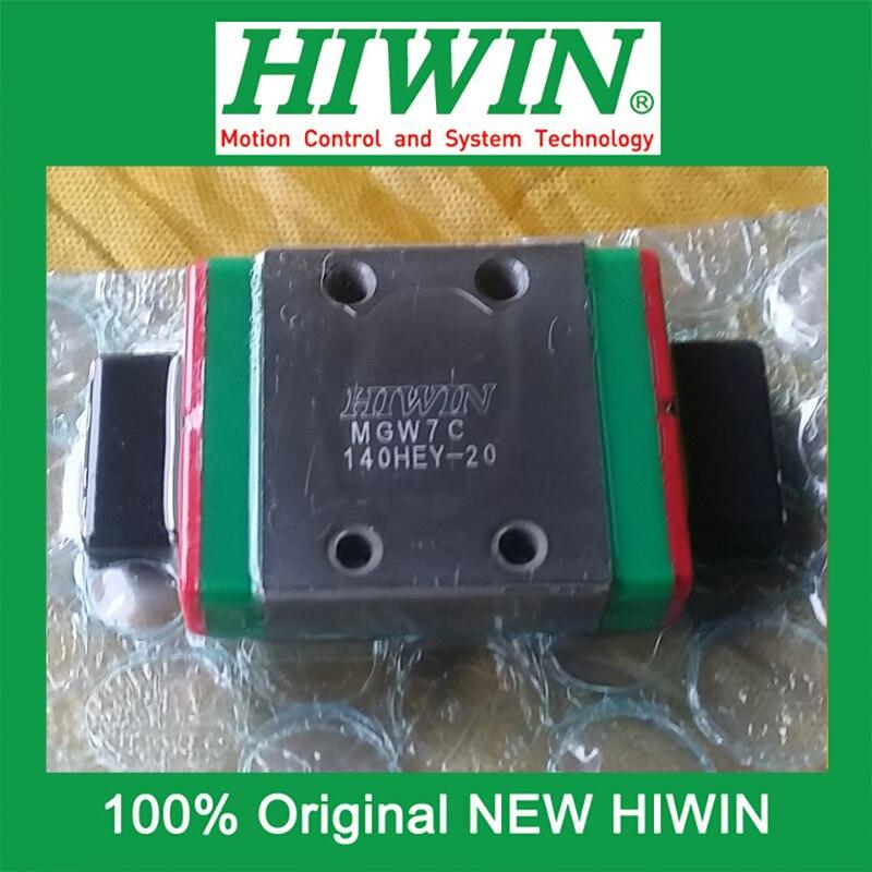 1pcs HIWIN MGW7 MGW7C MG7 New original linear guide block Original HIWIN Linear Guide CNC Parts Stock Good<br><br>Aliexpress