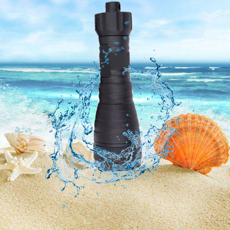 High quality Underwater 150 Meters Diving Flashlight 2000 lumens XM-L L2 Led Scuba Diving lights Waterproof  led Lampe Torche<br>