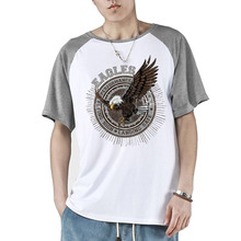 2017 Hot Sale Graphic Tees For Men American Eagle Outfitters Baseball T-Shirt Fashion Summer Short Sleeves Vogue Male Tops(China)