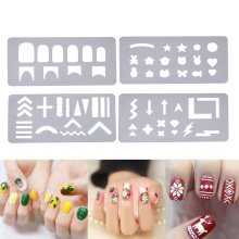Nail Stamping Plates Set Stamper Scraper Nail Art Polish Stamp DIY Nail Art Template Set Manicure Nail Tools(China)