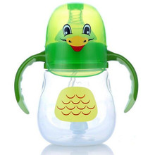 Bobei 2 In 1 Baby Feeding Bottle 210ml Water Cup Infant Milk Bottle PP Nursing Care Safe Mamadeiras Fruit Juice Drinkware(China)