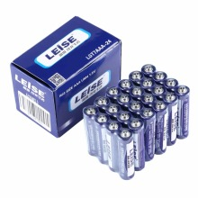 24pcs/lot LEISE R03 Size AAA UM4 1.5V Battery Durable Safe Reliable Stable Explosion-proof Environment Friendly No Mercury(China)
