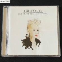 BINYEAE- New CD Seal: EMELI SANDE - Live at The Royal Albert Hall CD light disk [free shipping](China)