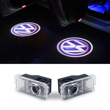 LED Door Warning Light With Logo Projector FOR Volkswagen VW Phaeton Passat B5 B5.5 Car Styling