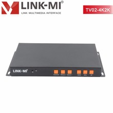 Video Wall Controller 4K2K TV shows screen splicing For 1x2 HDMI Processor LED/LCD Display TV02-4K2K  Two image processor