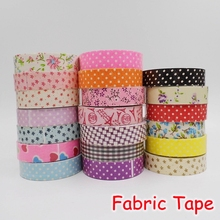 (20 Pieces/Lot) 5M DIY Adhesive Fabric Tape / Kawaii Deco Tape / Album Scrapbooking Decoration Stickers FRS-37