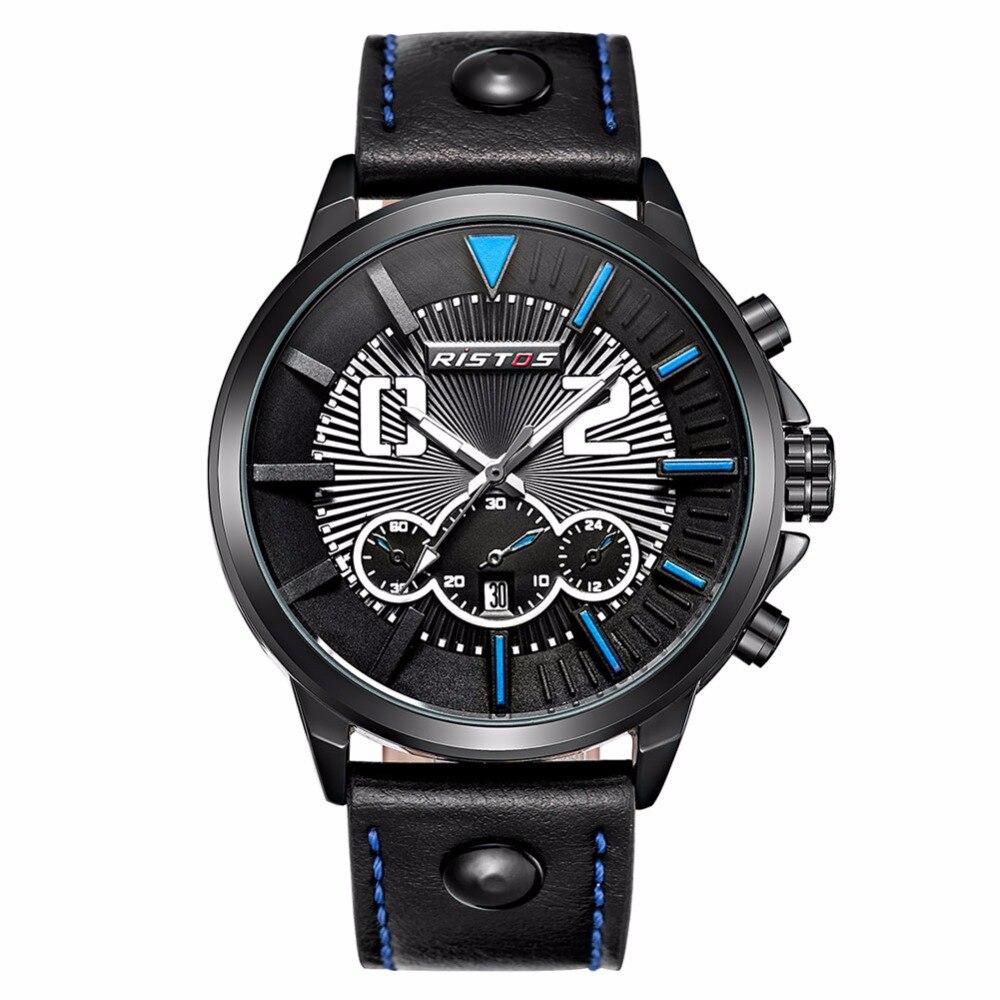Fashion Sport Watch Men Casual Quartz Wristwatch Big Dial Luminous Pointer Luxury Dress Business Male Clock 2017 Brand Hour<br><br>Aliexpress