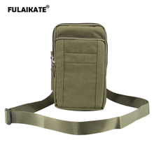 "Buy FULAIKATE 7"" Nylon Universal Shoulder Bag Samsung Galaxy Note 8 Climbing Waist Pouch S8 Plus Pocket Xiaomi MI Max 2 for $7.94 in AliExpress store"