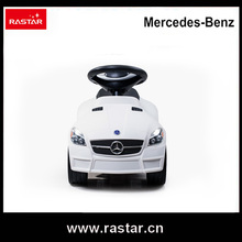 Rastar licensed car Mercedes Benz SLK 55 AMG Foot to Floor car ride on car new year toys with horn and chassis 82300
