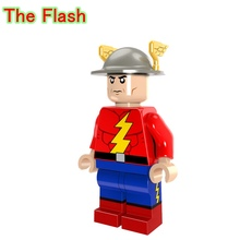 The First Generation Flash Action Dolls Single Sale DC Justice League Super Heroes Building Blocks Toys For Children PG247