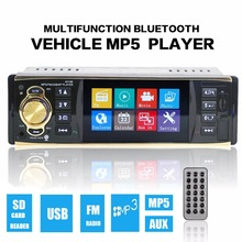 Brand New 4.1 Inch MP5 MP3 Car Video Player Bluetooth AUX Input Stereo Radio FM USB/TF Card