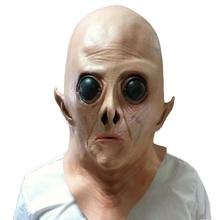 Halloween Mask Alien Head UFO Head Mask Cos Horror Ghost Trick Science Fiction Movie Theme Party Toys Movie Theme Props Supply(China)