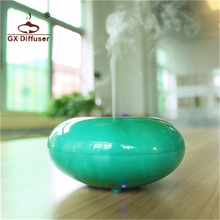 12W GX-03K Mini Air Purifier Cleaner Aroma Diffuser Electric LED Lamp Humidifier Essential Oil Home Baby Room Spa Office Yoga