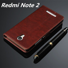 Fundas Xiaomi Redmi Note 2 High Quality Flip Cover Case Magnetic Leather Holster Xiaomi Redmi Note 2 Phone Shell Capa