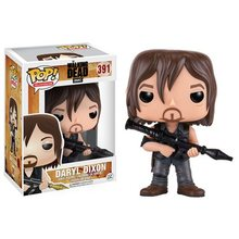 Original FUNKO POP The Walking Dead Daryl Dixon with Rocket Launcher Vinyl Figure Doll Car Decoration