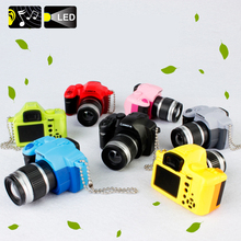 1pcs The Simulation Camera Toy Doll DIY Creative Camera With Light And SoundS For BJD Doll Accessories(China)