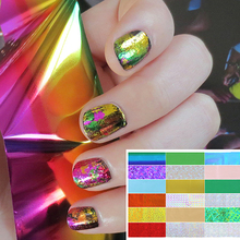 50 Pcs Symphony Nail Foil Stickers Star Starry Art Polish Transfer Decal DIY(China)