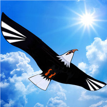 New Toys 75 Inch Power Brand Huge Eagle Kite With String And Handle Novelty Toy Kites Eagles Large Flying For Gift(China)