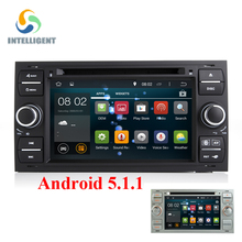 Android 5.1 Quad core 1024*600 2DIN Car DVD GPS Radio stereo For Ford Mondeo S-max Focus C-MAX Galaxy Fiesta Form Fusion Connect