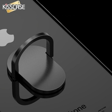 KISSCASE 360 Degree Finger Ring Holder Metal Tablet Desk Stand Holder For iPhone Samsung Android Mobile Phone Holder Accessories