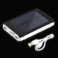For Phone External Power Bank Mobile Power Solar Batterr 10000mAh Solar Power Bank Portable Phone Charger r Powerbank