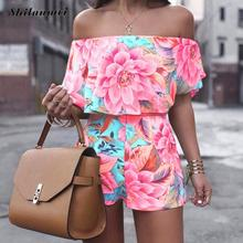 Women's Sets Short Sleeve floral Tops And Shorts Sweat Suits Women Summer Tracksuits Runway Outfit Two Piece Sets Sporting Suit