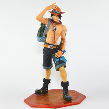 Anime Catoon One Piece POP DX Fire Portgas D ACE the 10th Anniversary Special Edition PVC Action Figure Collectible Model Toy