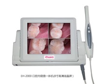 2017 New All in One 2.0 MP High Resolution Digital CCD Dental IntraOral Camera Monitor VGA 8 inch LCD & 4 Compare Image DHL Free