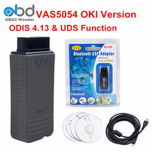 2017 Newest Vas 5054A ODIS 4.13 Version VAS5054 Bluetooth OKI Full Chip For VW For AUDI Diagnostic Tool Scanner Free Activation