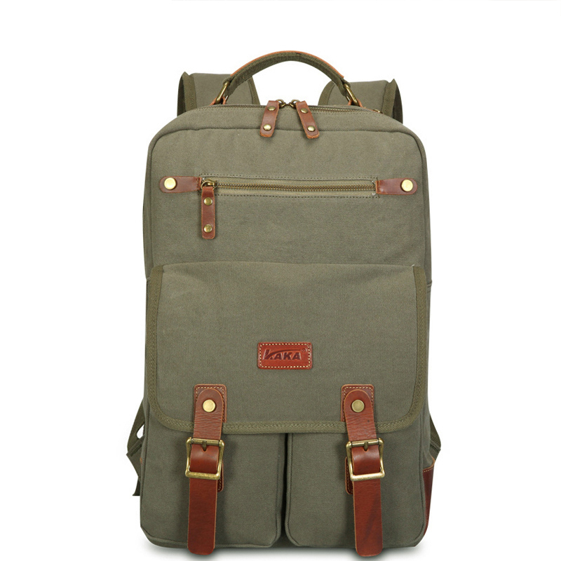 Brand Free Shipping Mens Backpacks Vintage Retro Backpack Bagpack Fashion Casual Canvas Backpack School Bags for male<br>
