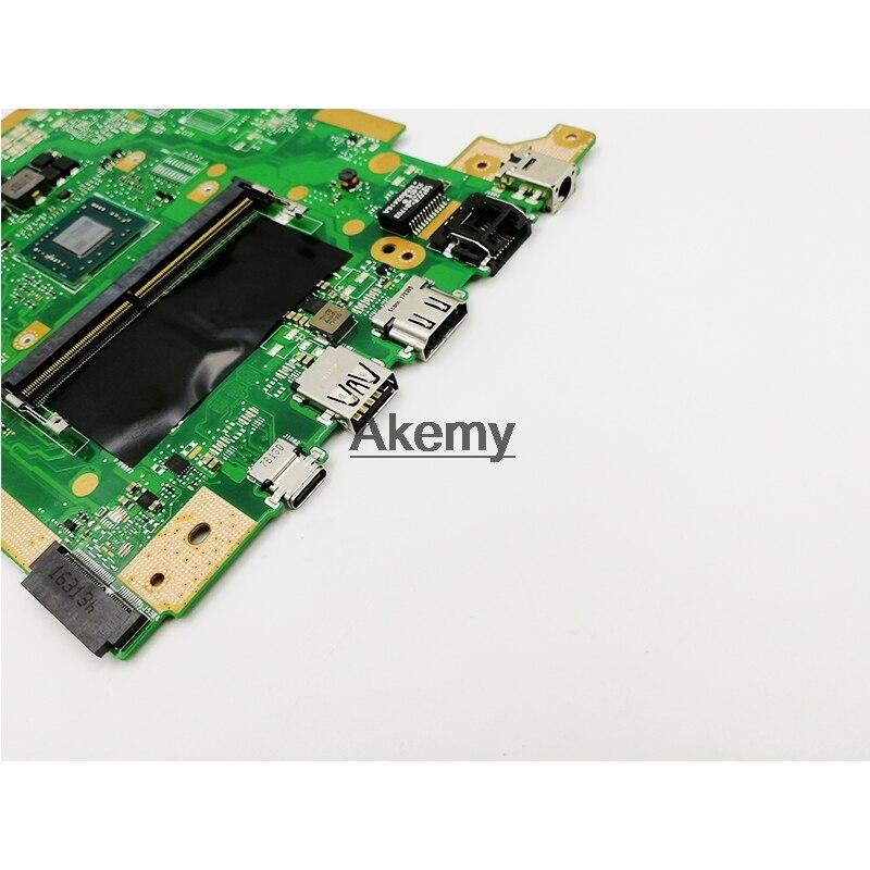 X505BA laptop motherboard For ASUS X505B X505BA X505BP Mainboard 4GB E2-9400 CPU