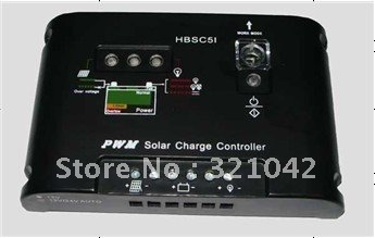PWM 15A Solar Charge Controller Regulator 12V 24V auto switch<br>