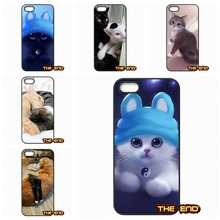 For Samsung Galaxy 2015 2016 J1 J2 J3 J5 J7 A3 A5 A7 A8 A9 Pro Best Yin And yang the cat Hard Black Phone Skin Case Cover