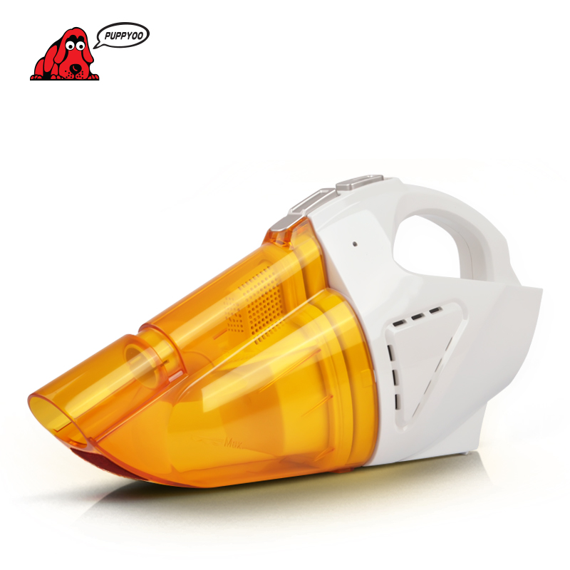PUPPYOO Hot Sell Mini Vacuum Cleaner Car Charge Wet &amp; Dry Dust Collector Dust Catcher Portable &amp; Handheld Aspirator D-703<br>