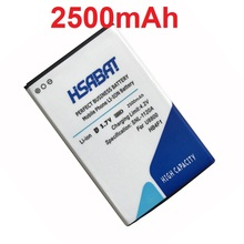 HSABAT 2500mAh HB4F1 Battery for Huawei U8220 U8230 E5830 E5838 E5 C8600 T-Mobile Pulse E585 Ascend M860 X5 U8800 C8800 Battery(China)