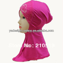 purple beige neck cover Fashion Cotton Inner ninja scarf; islam inner HIJAB/scarf;MUSLIM UNDERSCARF
