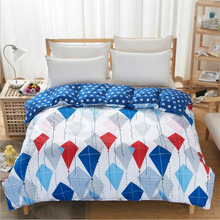 Cartoon design polyester luxury quilt cover/hotel high quality quilt cover/soft quilt cover size 200*230cm(China)