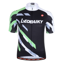 LEOBAIKY Summer Italy Pro Team Short Sleeve Breathable Sports Cycling Jersey Mtb Mountain Road Bike Clothing Bicycle Clothes