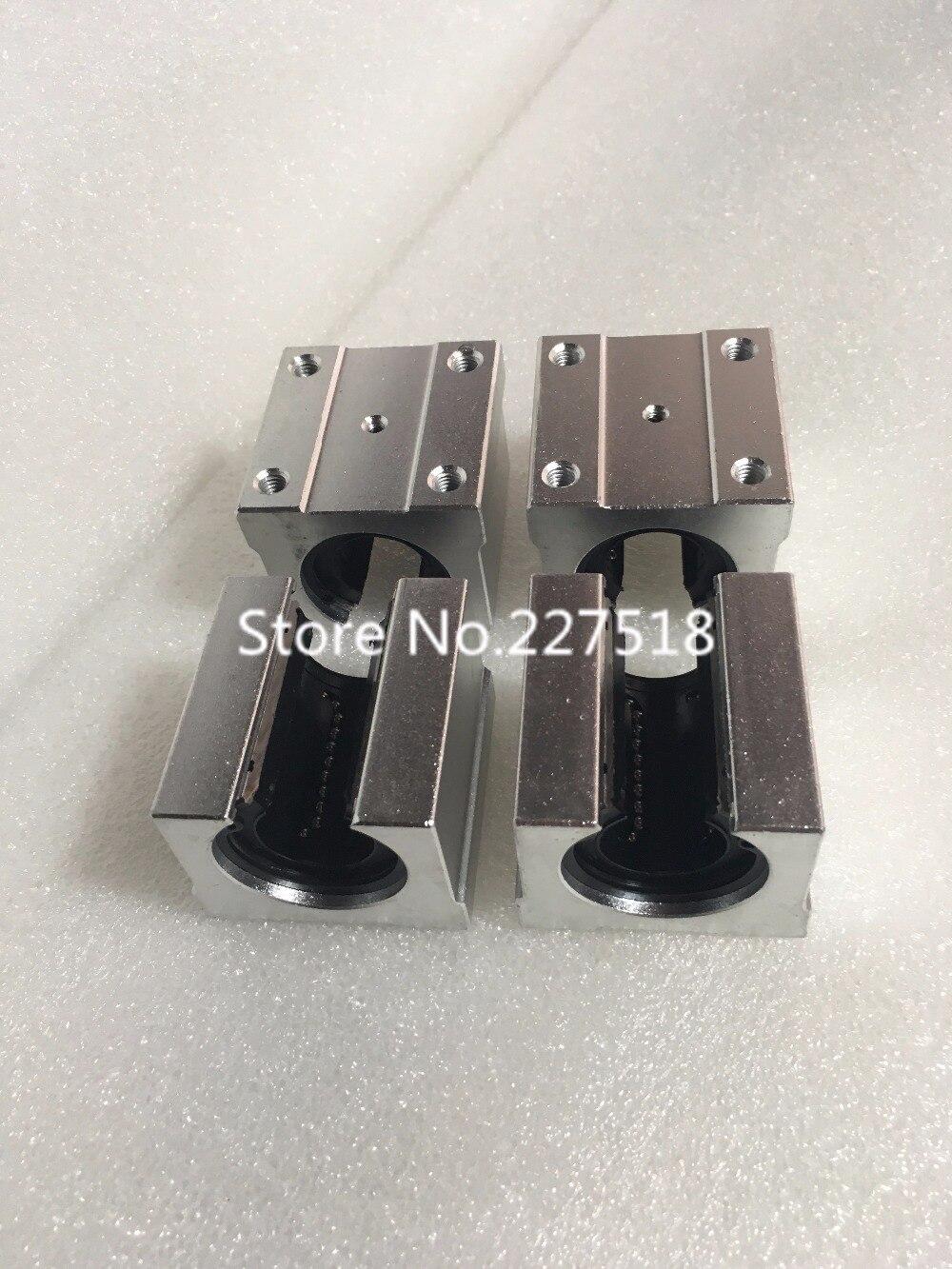1pcs SBR50UU 50mm Linear motion ball bearing slide block match use SBR50 50mm linear guide rail<br>