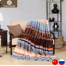 New 2017 Flannel Blankets Warm Winter Blanket Plush Blanket on the Bed Home Plan Travel Throws for Sofa Bedspreads Carpet Manta(China)
