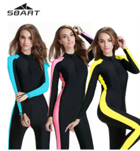 Sbart New women scuba snorkeling diving suit jump surf wet suit dive suit swimsuit
