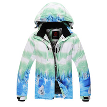 guarantee the original snow brand snowboards jackets for female waterproof woman skiing jacket snow overcoat clothes