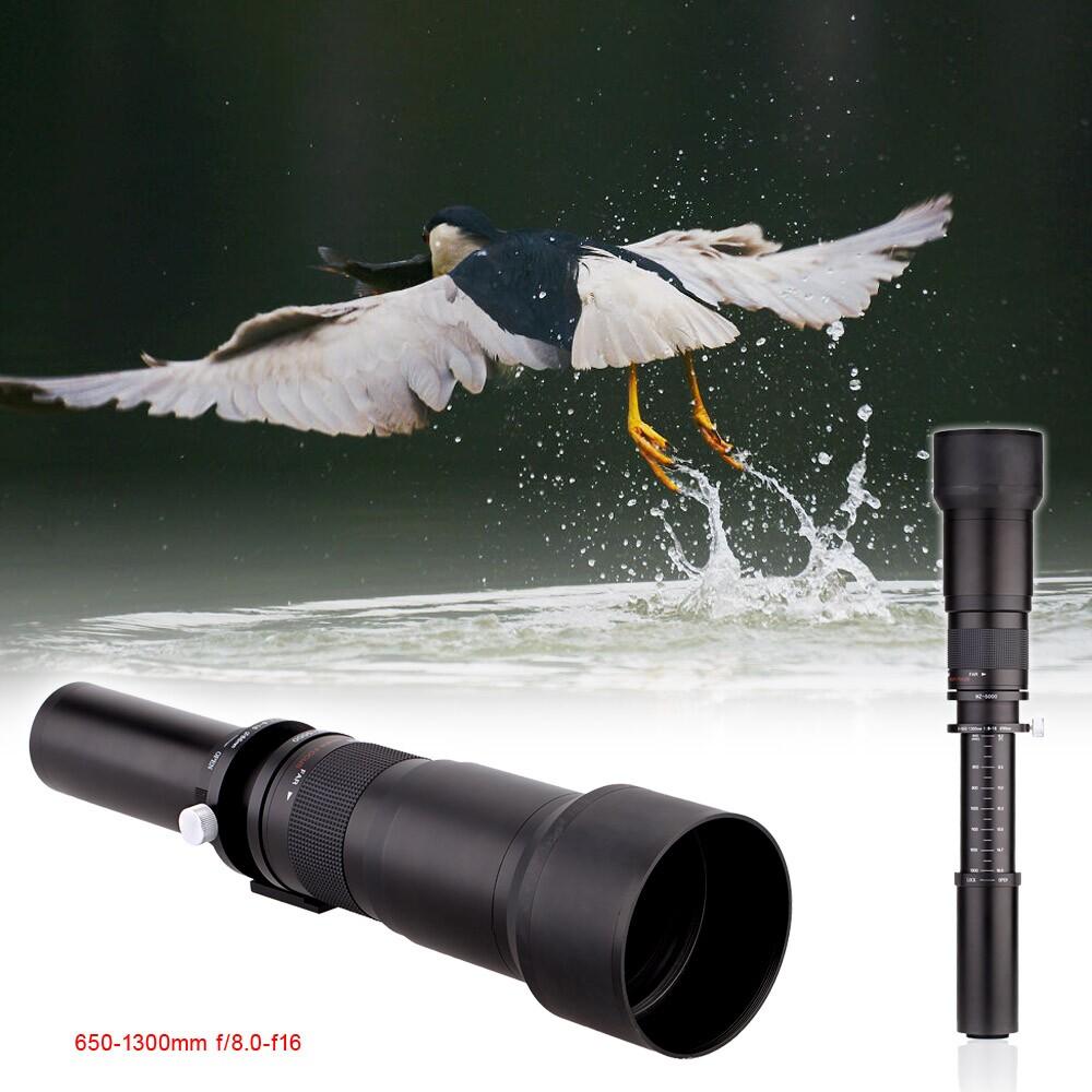 650-1300 Manual zoom telephoto lens (1)