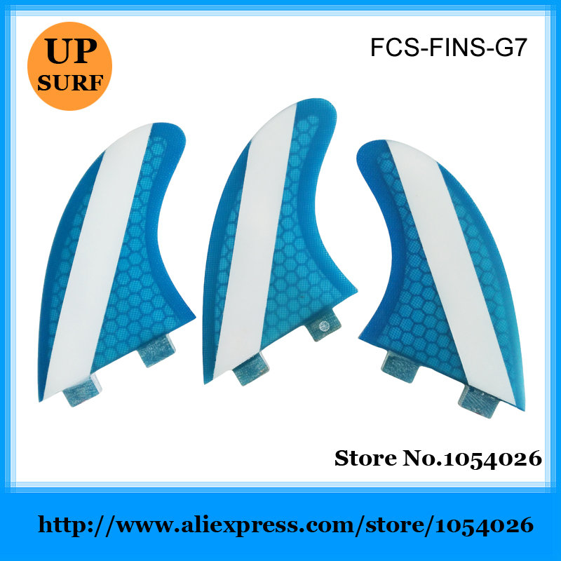 New FCS fin G7 fin honey comb fin Blue FCS Large Fins Free shipping<br><br>Aliexpress