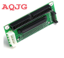 SCSI SCA 80 PIN TO 68 50 PIN SCSI Adapter SCA 80 PIN TO SCSI 68 IDE 50 Free Shipping Wholesale AQJG