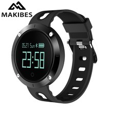 Makibes DM58 Smart Bracelet Blood Pressure Heart Rate Monitor IP68 waterproof Call reminder Activity Tracker Smart Band(China)