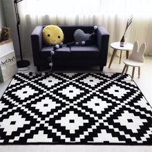 Trend Velvet Carpets For Living Room Modern Brief Bedroom Rugs And Carpets Coffee Table Area Rug Children Play Game Mat Tatami