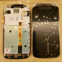 Black Full LCD DIsplay  Touch Screen Digitizer Frame Cover Assembly  For HTC Desire  HTC One S Z520e Z560e  original